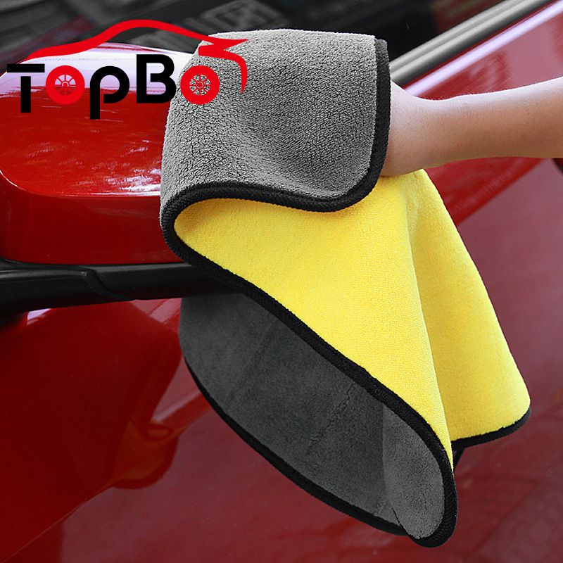 Microfiber Auto Car Cleaning Drying Cloths Car Wash Towels Rag Detailing Car Towel Super Absorbent Absorb Wax Polishing