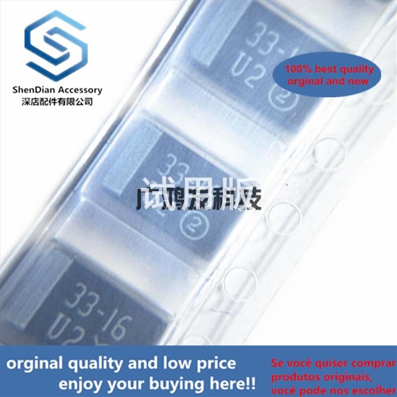 10pcs 100% Orginal New 293D336X9016C2TE3SMD Tantalum Capacitors 16V33UF 7343 2917 Type D