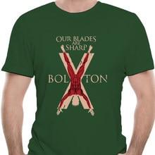 Мужская футболка с изображением престолов House Bolton 0512R