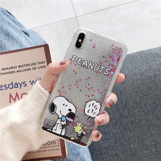 Creative Liquid Quicksand Mobile Phone Case