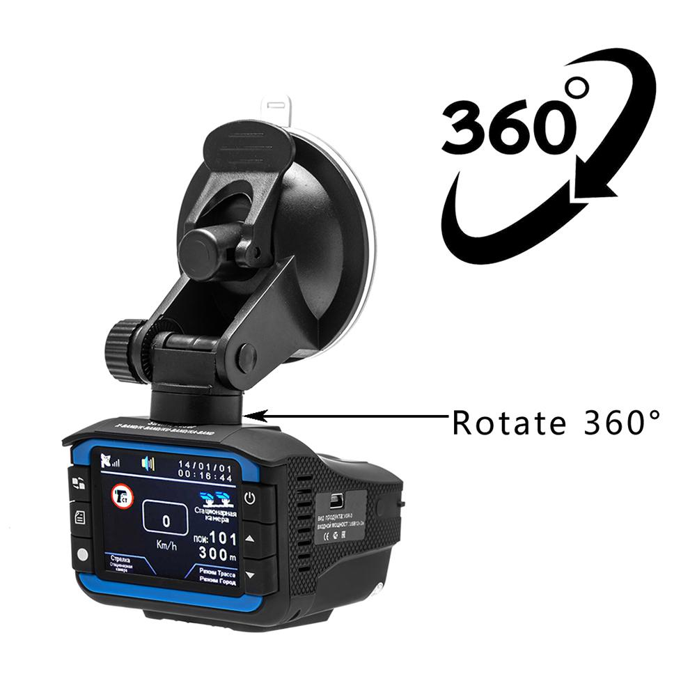 Recorder Camera Car-Radar-Detector Dash-Cam Anti-Laser Car Dvr 140-Degree 720P 2-In-1