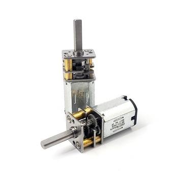 цена на Shaft 11mm N20 Gear Motor 3V 5V 6V Micro DC Motor Reduction Motors For Bicycle Sharing,Electronic Door Lock Motor Accessories