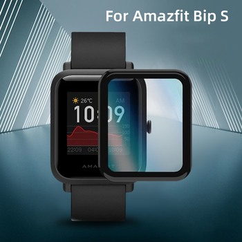 2020 Protective case cover Film For Huami Amazfit Bip s TPU Soft Film Smart Watch  Full Cover protector Smart watch accessories bapick full cover soft tpu bumper for xiaomi amazfit bip case smart watch screen protector for amazfit bip s case accessories