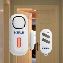 Беспроводная независимая дверная Магнитная сигнализация kerui