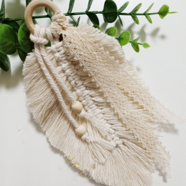 Macramé Woven Wall Hanging Tapestry 3