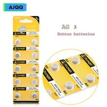 Производители продают 70 шт 1,55 V Батарея Кнопка Запчасти AG3 392A L736 LR41 392384 SR41SW CX41 192 AG 3 G3 LR736 SR41 щелочные батареи кнопки