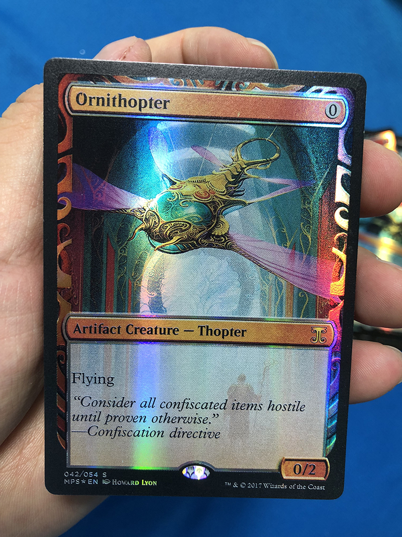 Ornithopter Kaladesh Inventions Magician ProxyKing 8.0 VIP The Proxy Cards To Gathering Every Single Mg Card.