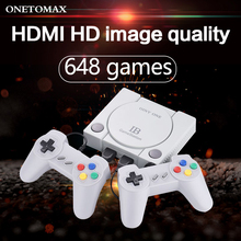 16 Bit Game Console HDMI / AV Output Mini 648 Classic Retro Video Games Console Double Players Family TV Retro Games Controller цена 2017