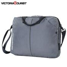 Мужская и женская деловая сумка victoriatourist стильный универсальный