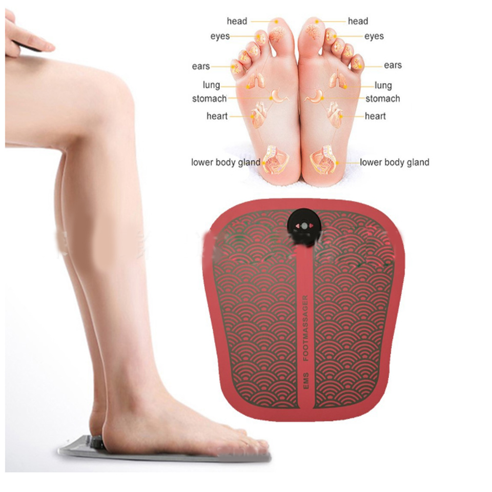 Vibration In Foot >> Us 30 36 54 Off Linlin Ems Foot Massage Pad Electronic Pulse Foot Pad Usb Charging Vibration Foot Therapy Machine Foot Massage Device In Foot Care