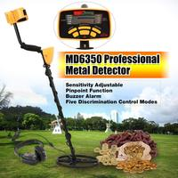 Регулируемая чувствительность подземный металлоискатель детектор золота Охотник за сокровищами трекер Искатель металлоискатель MD-6350
