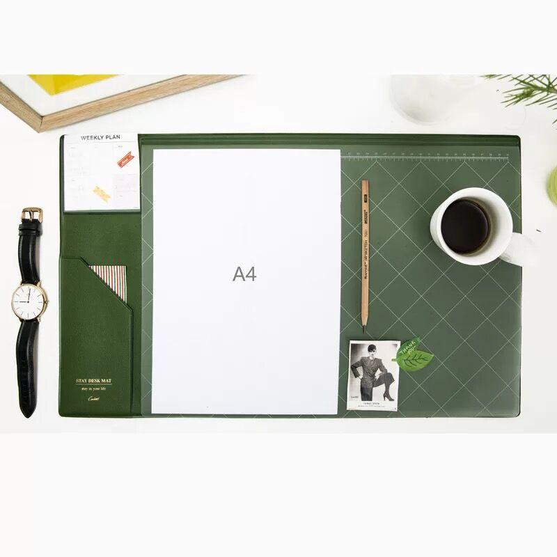 Multifunctional  Fashion Desktop Organizer Pad & Laptop Mouse Pad Thickened Anti-slip  2
