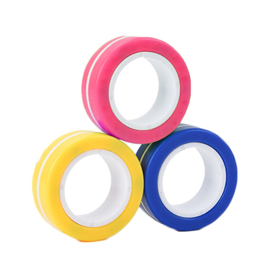 Toy Ring Bracelet Fidget-Toys Stress Magnetic Unzip Zabawki img2