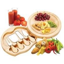 Сыр Ножи комплект ручка для деревянного ящика Кухня комплекты