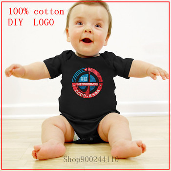 Newborn Baby Clothes Short Sleeve Girl Boy Clothing Interkosmos CCCP Cuba new born baby clothes 3 to 6 months Bodysuits baby image