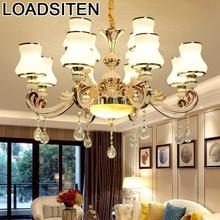 Industrial Loft Decor Light Candiles Colgante Modernos Crystal European Lampen Modern Luminaria Deco Maison Hanging Lamp