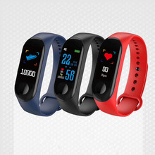 New Touch Color Screen Smart Bracelet Heart Rate Monitoring Information Push Bluetooth Multi-Function Sports