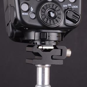 Image 5 - 10pcs/lot Camera Metal Cold Shoe Hot Shoe Flash Bracket Mount Adapter With 1/4 Tripod Screw To Light Stand Tripod
