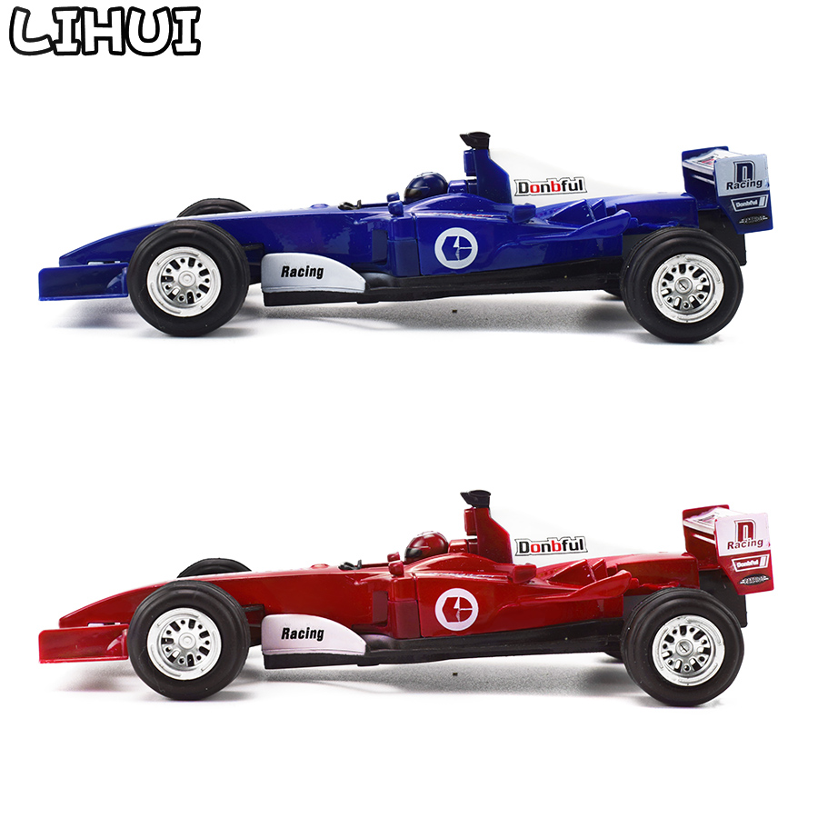 1 PCS Alloy Kids Toy Car Vehicles F1 Formula 1 Racing Diecast Simulation Model Pull Back Car Educational Toys For Children Boys