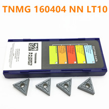 TNMG160404 NN LT10 Carbide Inserts Cylindrical Tools Turning CNC Machine Tungsten