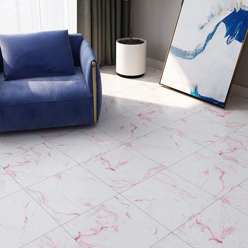 Living Room Decor Marble Floor Renovation Stickers Vinyl Self Adhesive Waterproof Floor Wall Decals Kitchen Backsplash Wallpaper