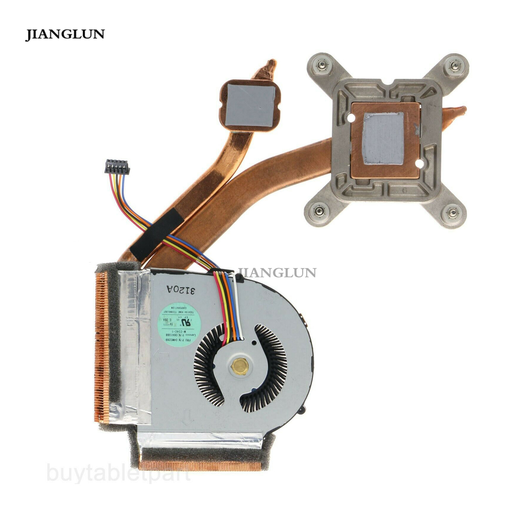 JIANGLUN Laptop CPU Cooling <font><b>Fan</b></font> with Heatsink For <font><b>Lenovo</b></font> IBM ThinkPad <font><b>T430</b></font> T430i image