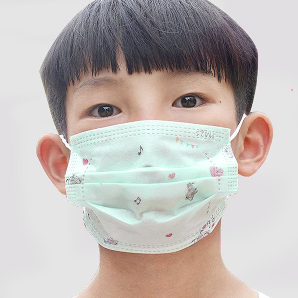 Disposable Anti-pollution Dust-proof Anti-fog Masks Children's Masks Non-woven Allergy / Asthma / Travel Masks