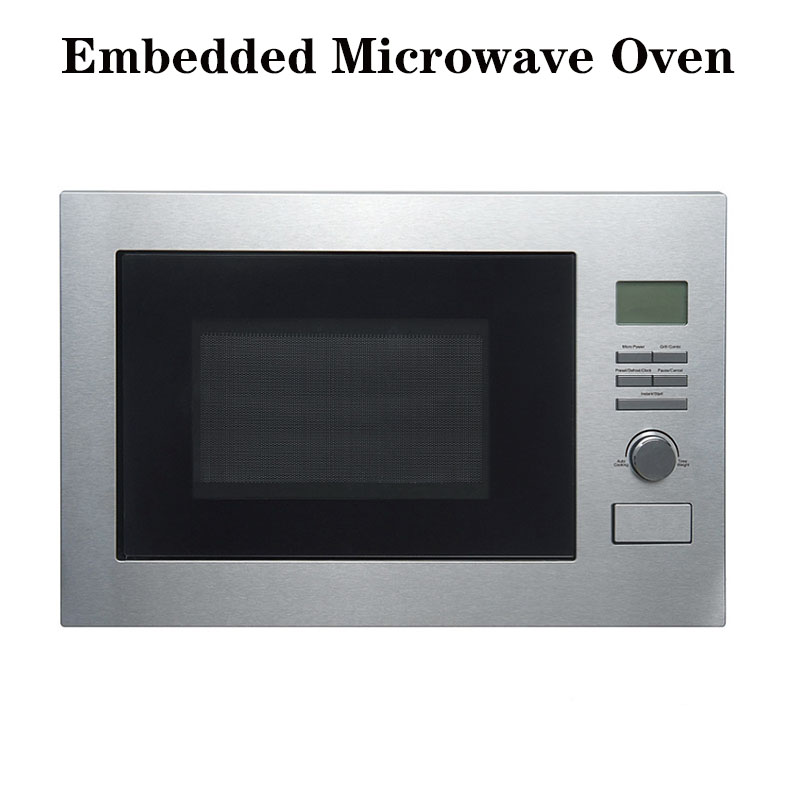 25 Liter Fully Automatic Embedded Microwave Oven Small Size Fully Automatic Intelligent Light Wave Oven