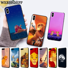 WEBBEDEPP Lion King Pumba Hakuna Silicone soft Case for iPhone 5 SE 5S 6 6S Plus 7 8 11 Pro X XS Max XR