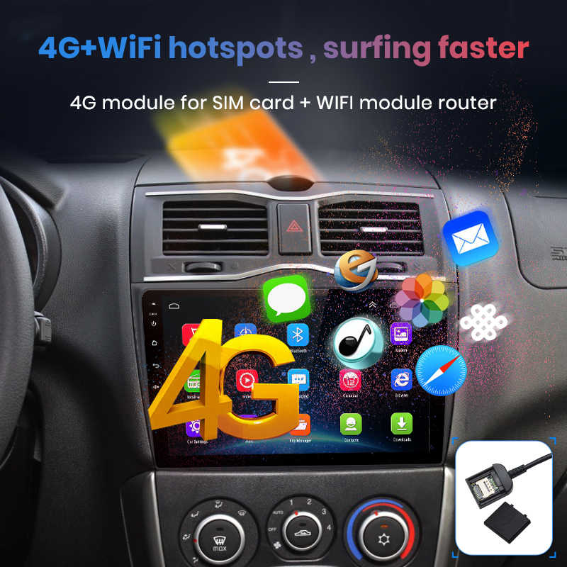 Junsun V1 2G + 32G Android 9.0 DSP untuk Lada Ваз Granta Cross 2018 2019 Mobil Radio Multimedia video Player Gps Navigasi 2 DIN DVD