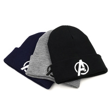 Marvel Hats Cosplay Costumes The Avengers Adlut Cap Adjustable Warm Winter Hat Beanies Gifts For Xmas