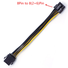 CPU 8pin Pcie Power-Conversion-Cable Power-Supply Female Atx 12v To 6--2 2--6-