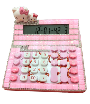 Kalkulator, uroczy, kalkulator KT, kryształowy prezent komputerowy