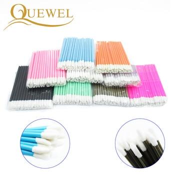50pcs Make Up Brushes set Cotton Swab Mascara Wands Lip Brush Pen Cleaner Cleaning Eyelash Disposable Makeup Brush Applicators 1