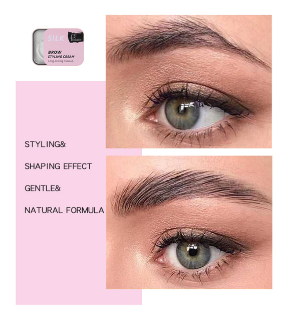 3D Feathery Eyebrow Cosmetic Gel Enhancer Balm Styling  Eyebrows Tint Pomade Waterproof Brows Long Lasting Natural Makeup TSLM1 5