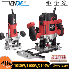 Trimmer Wood Slotting-Trimming-Machine Electric Router Carpentry Hand-Carving Milling