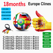 2020 Cccam espa a Spain portugal Germany cccams for Satellite TV Receiver lines WIFI FULL HD DVB-S2 Poland Eroupe clines ccams(China)