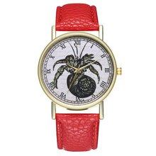 2018 New Luxury Vintage Men Woman Watch Leather Quartz Sport Wrist Watc