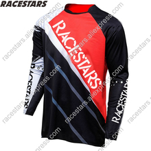 RACESTARS 2020 Men Downhill Jersey Motocross Long Sleeve Moto MTB Cycling Clothing MX DH Racing jersey