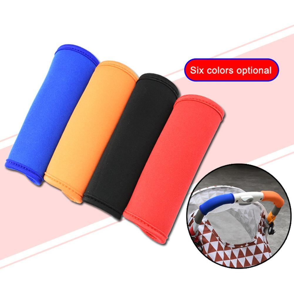 Waterproof Baby Stroller Handle Cover Magic sticker Neoprene Baby Stroller Handle Bar Cover Pram Cart Grip Protection