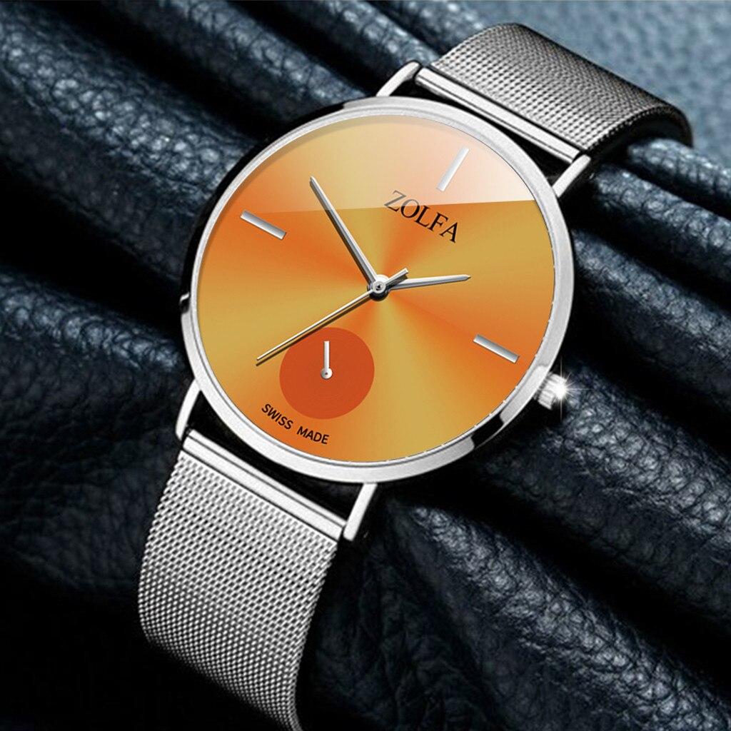 Cassic Style Women Watches Dial Ladies Quartz Wristwatch Business Alloy Strap Clock Casual Gift Hot Sale Zegarki Damskie 533
