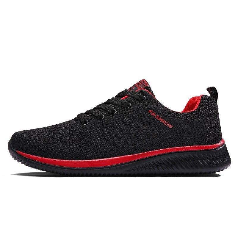 Air Mesh Women Men Lightweight Outdoor Sport Running Shoes Couples Breathable Soft Athletics Jogging Sport Sneaker Shoe