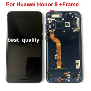 Image 3 - 100%Original For Huawei Honor 9 STF L09 STF AL10 STF AL00 STF TL10 LCD Display +Touch Screen Digitizer Assembly Honor 9 Premium