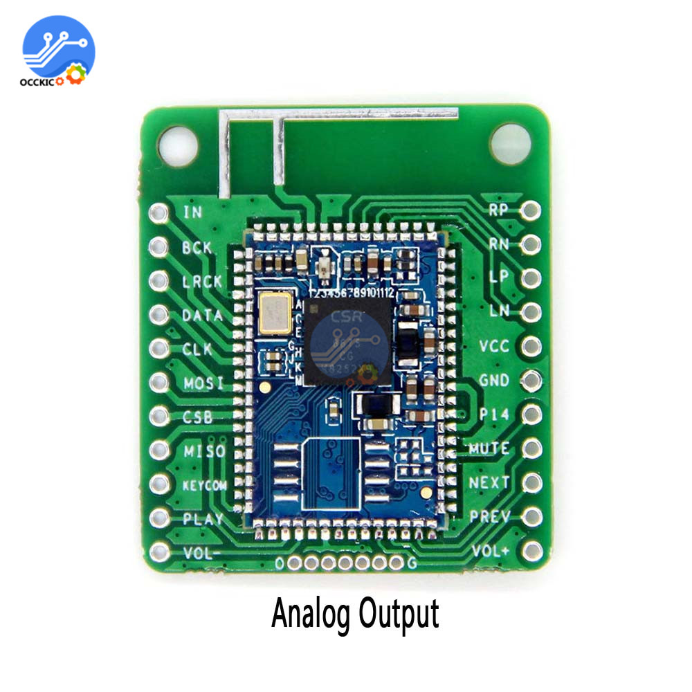 CSR8675 Bluetooth V5.0 Audio Module Wireless Digital Bluetooth Speaker Sound Audio Board Analog Output Low Power