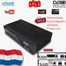 Vmade новейший DVB T2 K6 scart/AV цифровой наземный ТВ приемник тюнер Поддержка H.265/HEVC HD есть звук 1080p DVB T2 телеприставка