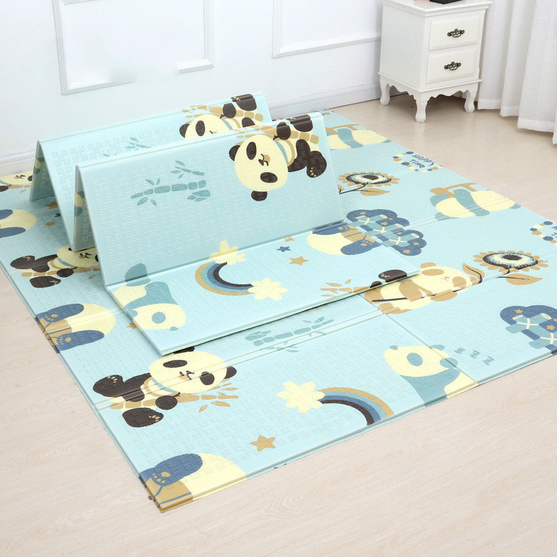 200*180cm Animal Frost Foldable Baby Play Mat XPE Puzzle Children Mat Baby Climbing Pad Kids Baby Games Mats toddler playmat gym