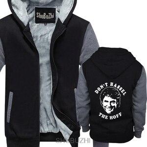 DAVID HASSELHOFF yok Hassel en Hoff Baywatch ağır erkekler kışlık kapşonlu erkek noel ceket hediyeler sbz4451
