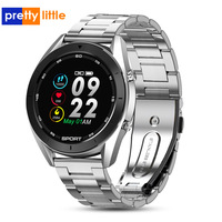 DT99 Smart Watch IP68 Waterproof Round HD Screen ECG Detection Changeable Dials Smartwatch Fitness Tracker Men