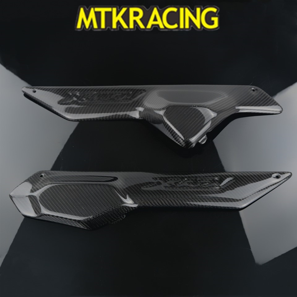 MTKRACING Is Suitable For HONDA X ADV 300 750 1000 2017-2019 Motorcycle Left And Right Side Panel Decorative Cover Carbon Fiber