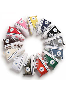 Shoes Newborn Sneakers Anti-Slip Soft-Sole Canvas Baby Toddler Infant Baby-Boys-Girls